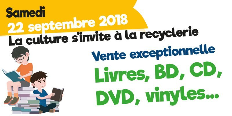 La culture s'invite à la Recyclerie le 22 septembre